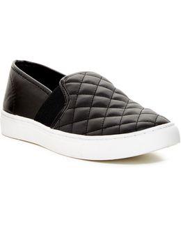 Diamond Quilted Slip-on Sneaker