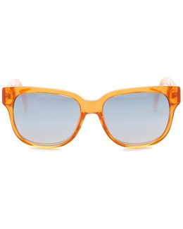 Women's Square Plastic Sunglasses