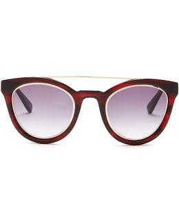 Women's Tessa Cat Eye Browline Sunglasses