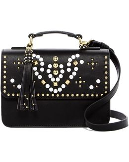 Trudy Small Studded Flap Crossbody