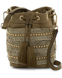 Brooks Drawstring Bucket Crossbody