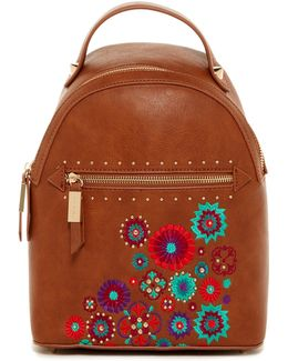 Jules Embroidered Backpack