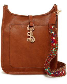 Dayna Embroidered Messenger