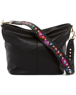 Rachel Embroidered Hobo