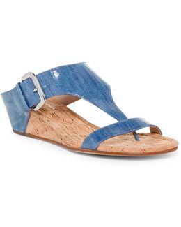 Doli Demi-wedge Slide Sandal