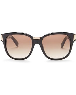 Women's Rounded Sunglasses
