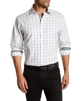 Long Sleeve Classic Fit Woven Shirt
