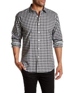 Long Sleeve Shaped Fit Woven Shirt