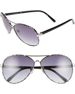 Women's Sental Aviator Metal Frame Sunglasses
