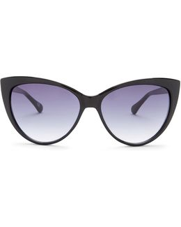 Women's Classic Plastic Cat Eye Sunglasses