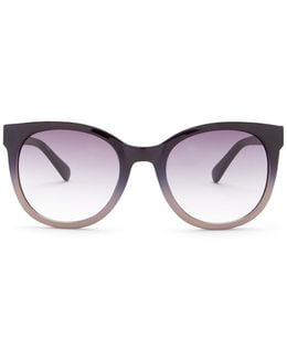 Women's Modified Plastic Cat Eye Sunglasses