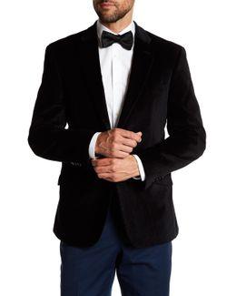 Dorsey Black Two Button Notch Lapel Sportcoat