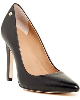 Brady Leather Pointed Toe Pump - Wide Width Available
