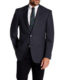 Ethan Gray Shepherd's Check Two Button Notch Lapel Jacket