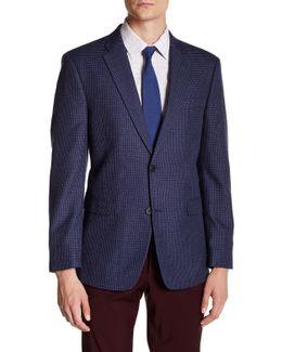 Ethan Blue Two Button Notch Lapel Suit Separates Jacket