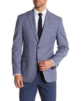 Ethan Plaid Classic Fit Sport Coat