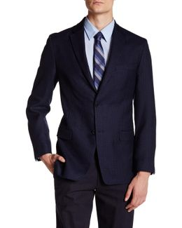 Bray Dot Two Button Notch Lapel Suit Separates Jacket