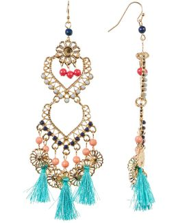 Venetian Inspired Chandelier Earrings