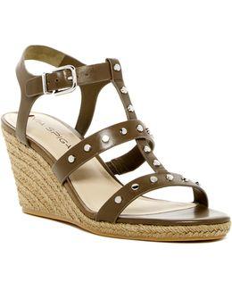 Indya Studded Wedge Sandal