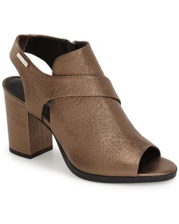 'ellca' Open Toe Bootie (women)