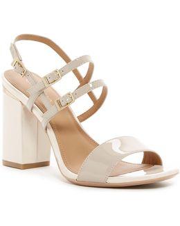 Caisiey Block Heel Sandal