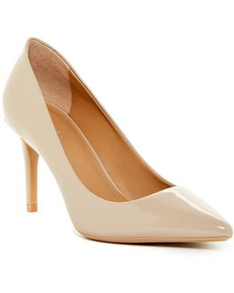 Gayle Patent Leather Pointy Toe Pump