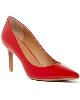 Gayle Patent Leather Pointed Toe Pump