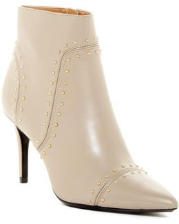 Grazie Studded Pointy Toe Bootie