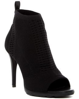 Malai Stretch Peep Toe Bootie