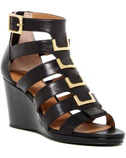 Brilla Cow Silk Wedge Sandal