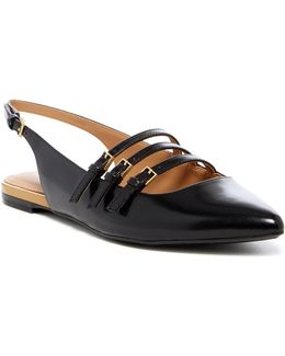 Genevieve Pointed Toe Flat