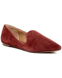 Simona Suede Loafers