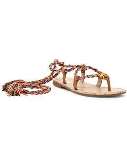 Beth Ankle Lace Sandal