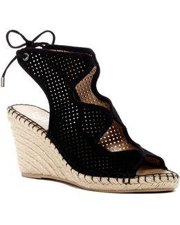 Nash Perforated Wedge Sandal