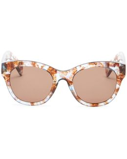 Women's Monroe Cat Eye Acetate Frame Sunglasses