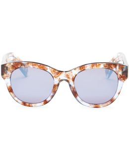 Women's Monroe Retro Acetate Frame Sunglasses