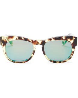 Women's Winston Deluxe Cat Eye Acetate Frame Sunglasses