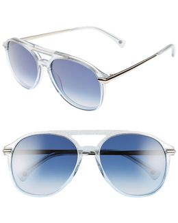 Women's Grand Dame Cat Eye Acetate Frame Sunglasses