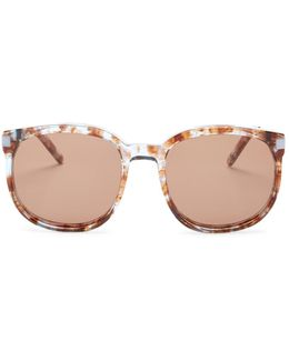 Women's Geena Retro Acetate & Metal Frame Sunglasses