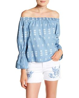 Selena Off-the-shoulder Blouse