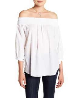 Audrey Off-the-shoulder Blouse