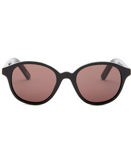 Women's Madison Round Acetate Frame Sunglasses