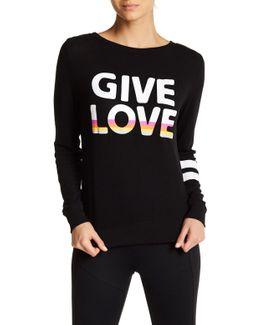 Give Love Lightweight Tee