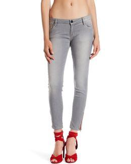Signature Ankle Zip Jean
