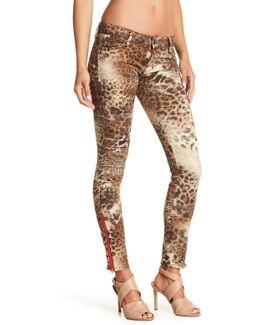 Printed Skinny Jean