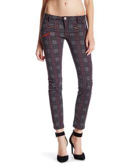 Zipper Skinny Jean