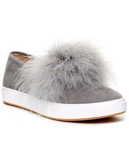 Emily Faux Fur Slip-on Sneaker
