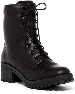 Emma Cap Toe Boot