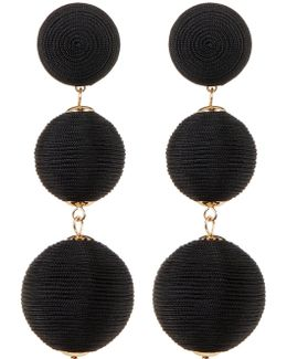 Multi Sphere Drop Earrings