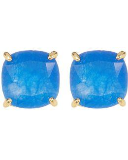 Semi Precious Stud Earrings